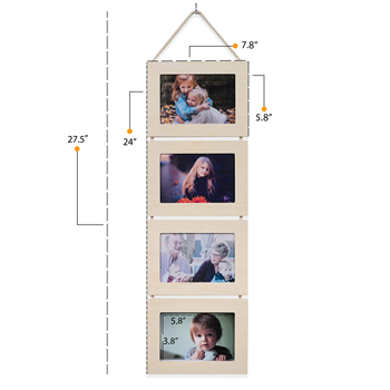 Diy Collage Family Trees Wood Picture Photo Frame for Wall Funny Collage Decorative Photo Frame