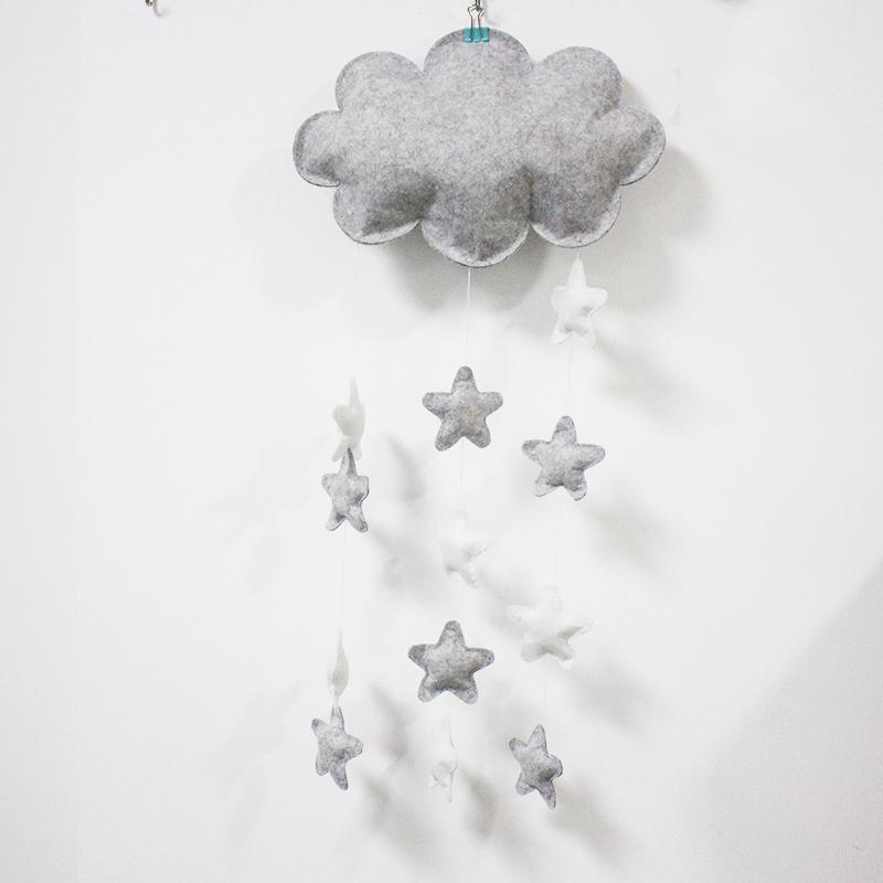 Decoration Customized Design Felt Mountain Baby Mobile