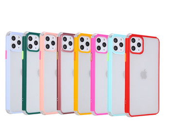 factory price transparent frosted mobile phone back cover for iphone 11 pro max case