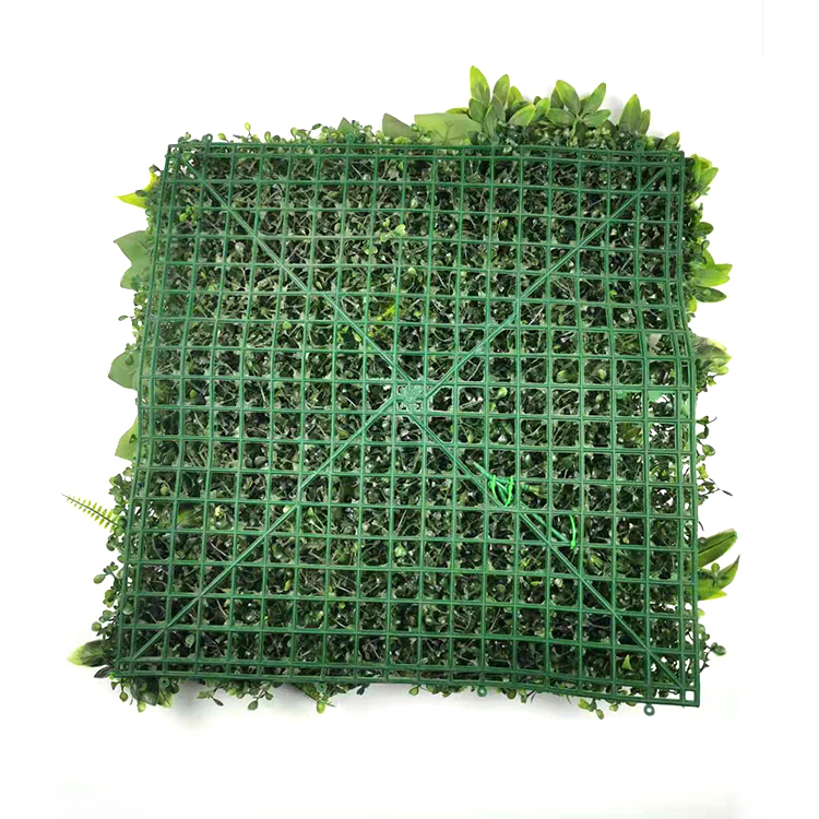 Factory Direct Supply Outdoor Decoration Simulation Artificial Milan Grass Plant wall