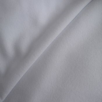 Hot sale white color 100% polyester suede cloth fabric for cloth diaper