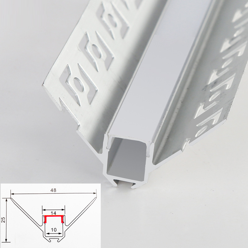 18mm Board  8mm glass Laminated panel light strip cabinet light strip led closet light showcase led aluminum led profiles strips