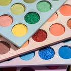 Colors 4 Colors Eyeshadow Beauty Glazed 40 Colors New Style 4 Levels Fresible High Pigmented Eyeshadow Palette