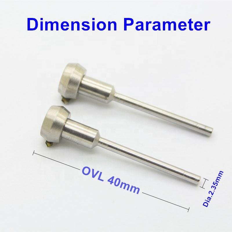 Jewelry faceting engraving tool MCD diamond flywheel tool