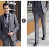 Men Gray suits(blazer+pants)