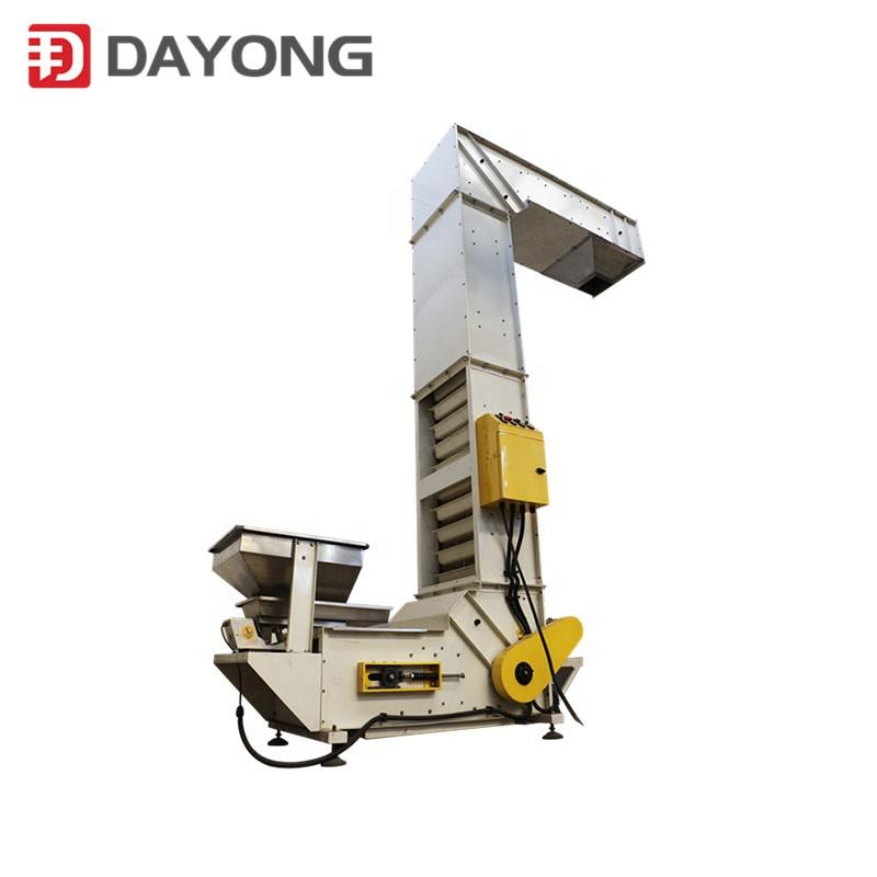 china vertical conveying z type quartz sand bucket elevator equipment