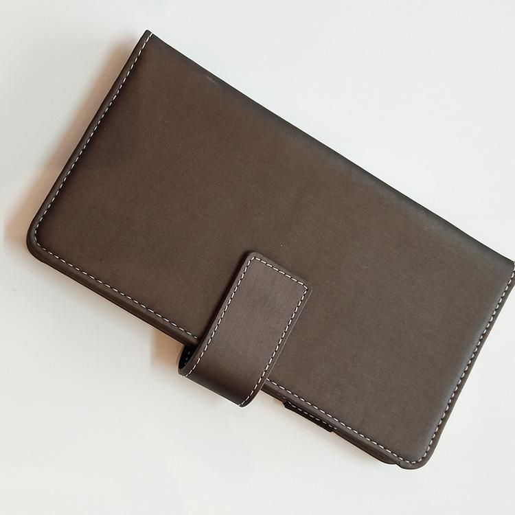 Пользовательские коричневые кожаные канцелярские принадлежности журнал еженедельная Книга Обложка