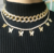 Men Women Diamond Cubic Cuban Chain Gold Plated Silver CZ Choker Jewelry Necklace