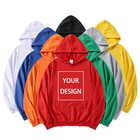 For Men Cotton Wholesale Embroidery Logo Hoodies For Men Cheap Blank Cotton Unisex Custom Hoodie Printing Pullover Sweatshirt