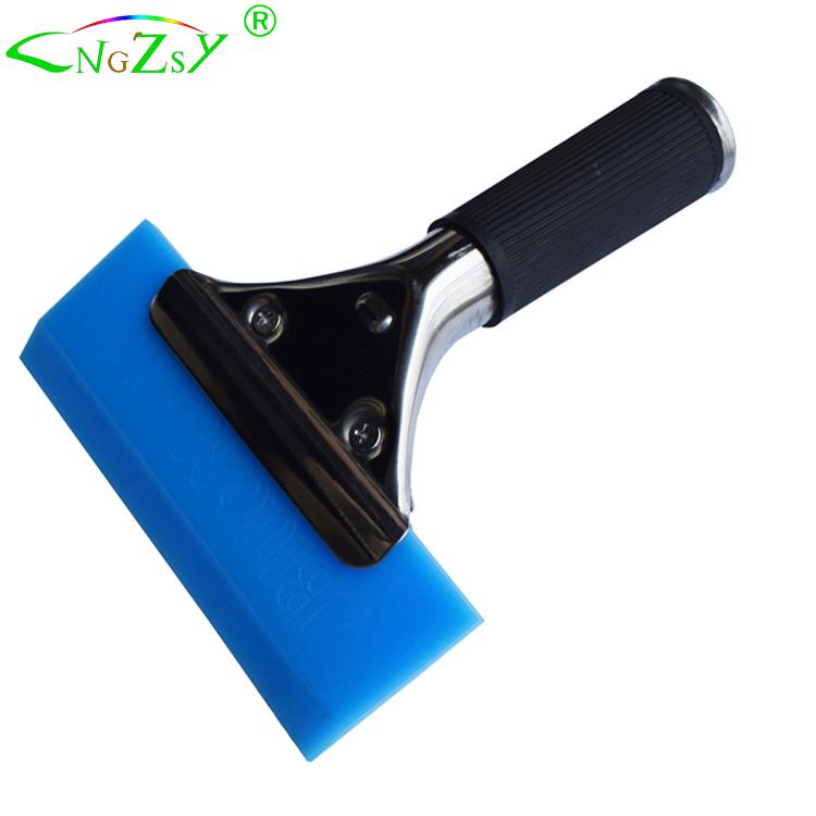 Стеклоочиститель для воды, Сделано в США, с ручкой из нержавеющей стали, автоматические тонировочные инструменты, резиновый скребок Bluemax