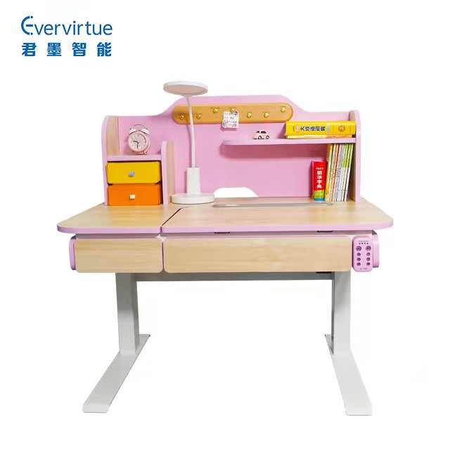 The new product is practical, safe, environment-friendly and intelligent lifting table suitable for children to learn