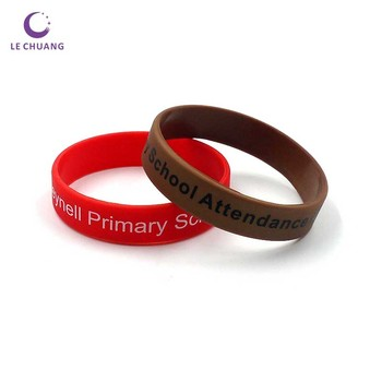 Birthday Return Gifts for kids Funny bracelet Imprinted Logo Silicone Wristband