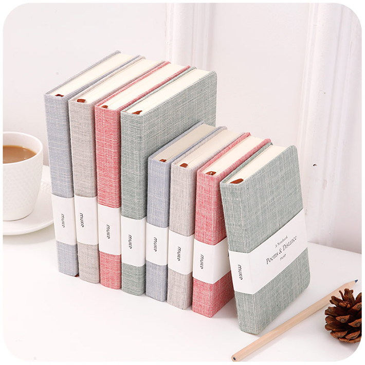 High Quality Free Sample Personalized Printed Leather Custom Hardcover Dotted Notebook With Logo