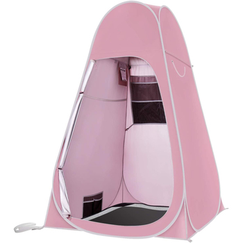 Portable Pop Up Privacy Shower Tents Spacious Changing Room For Camping Hiking Beach Toilet Shower Bathroom