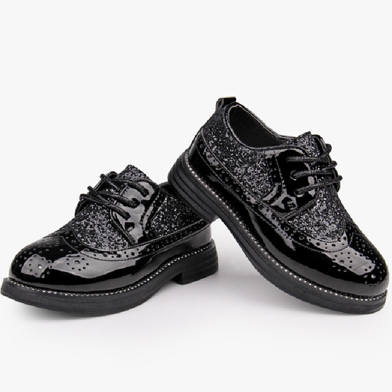 Fashion British Style Children Black Leather Shoes More Style Boy Dress Leather Shoes