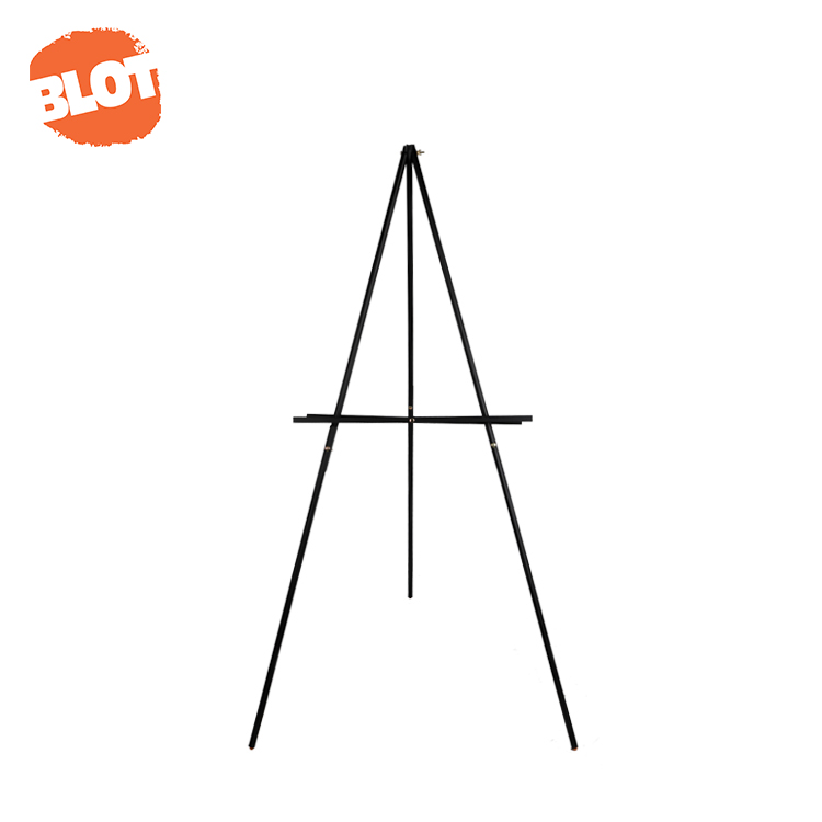 BLOT WJ-7 Good Material Rapid Assembly Portable Easy-folding Art Painting Wooden Easel Stand Tripod