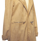 Coat Ladies Casual Suede Coat