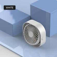 1 комплект с тремя лезвиями USB Настольный маленький вентилятор большой ветер Три регулируемые портативные настольные маленькие вентилятор...(Китай)