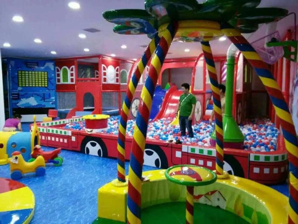 Fashion Colorful Children Kids Amusement Park Equipment Commercial Soft Plastic Large House Indoor Playground For Sale