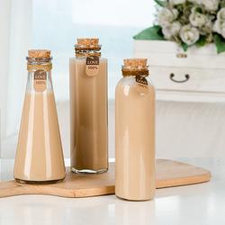 Небьющаяся стеклянная бутылка для молока и напитков, 700 мл, 350 мл