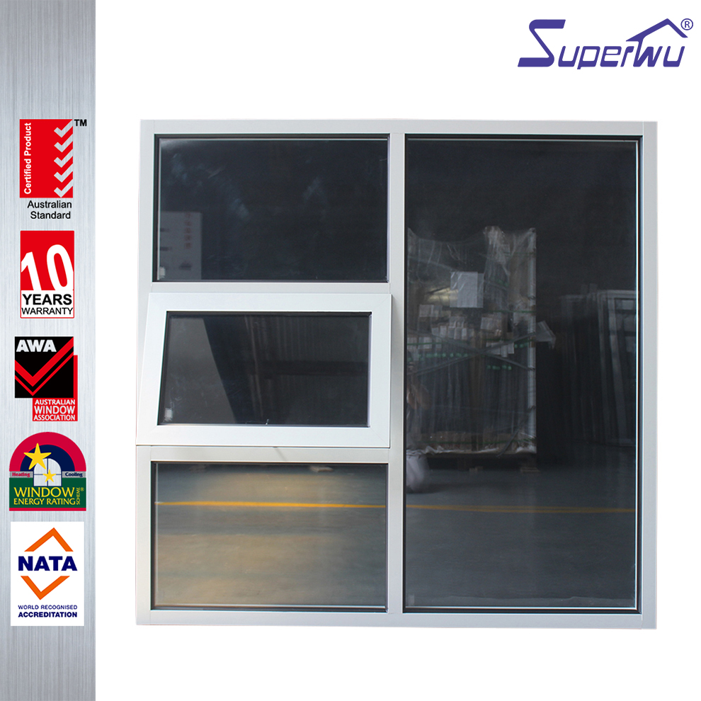 Hot Sale Good Quality New Design Cheap Aluminium Awning Windows From China Supplier Chain Winder Windows