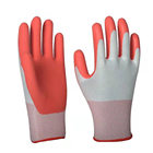 Gloves Hand Gloves Anti Slip Latex Work Hand Gloves