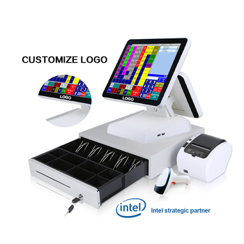 Billing Retail Restaurant Android Windows Electronic Touch Pos Terminal Cashier Machine Cash Register Pos all in one Pos Systems