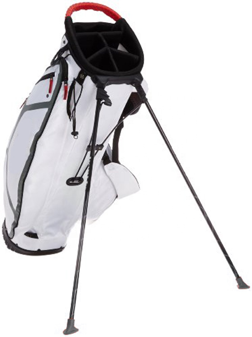 golf cart/stand bags with full length dividers