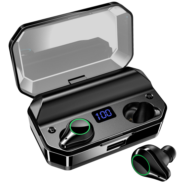 Shenzhen TWS earbuds wireless earphone noise cancelling headphone with 7000mah charging case - idealBuds Earphone | idealBuds.net
