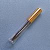 metallic gold color mascara tube