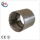 Steel Pipe Coupling Threaded Fitting Stainless Steel 304/316 Welded / Seamless Threaded Stainless Steel Pipe Nipple Fitting Merchant Coupling