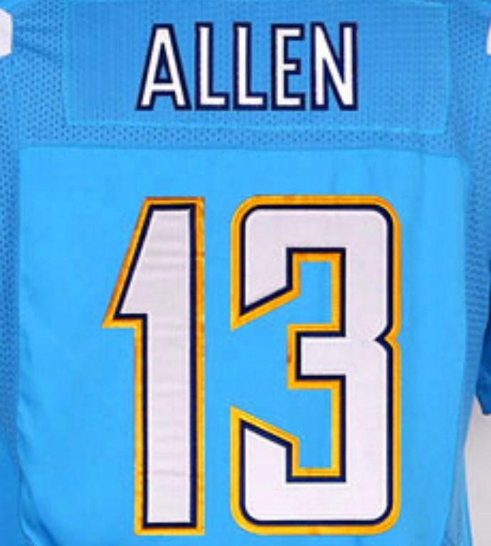 Keenan Allen Best Quality Stitched American Football Jersey - Buy ...