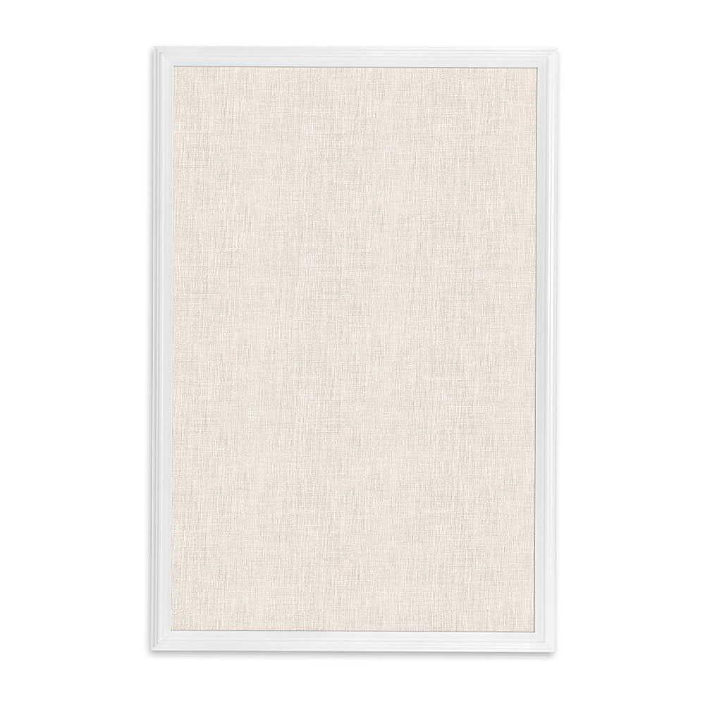 Customized size Fabric Bulletin Board for home decoration with wood frame