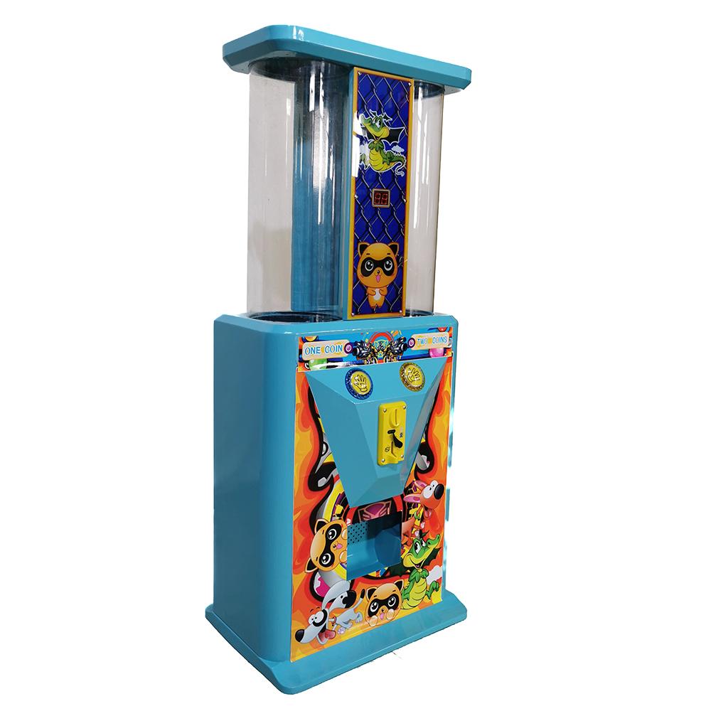 Комнатный спорт, небесно-голубой аркады, подарок, детская игра, капсулы, игровые мячи с монетами, мини-торговый автомат гатяпон