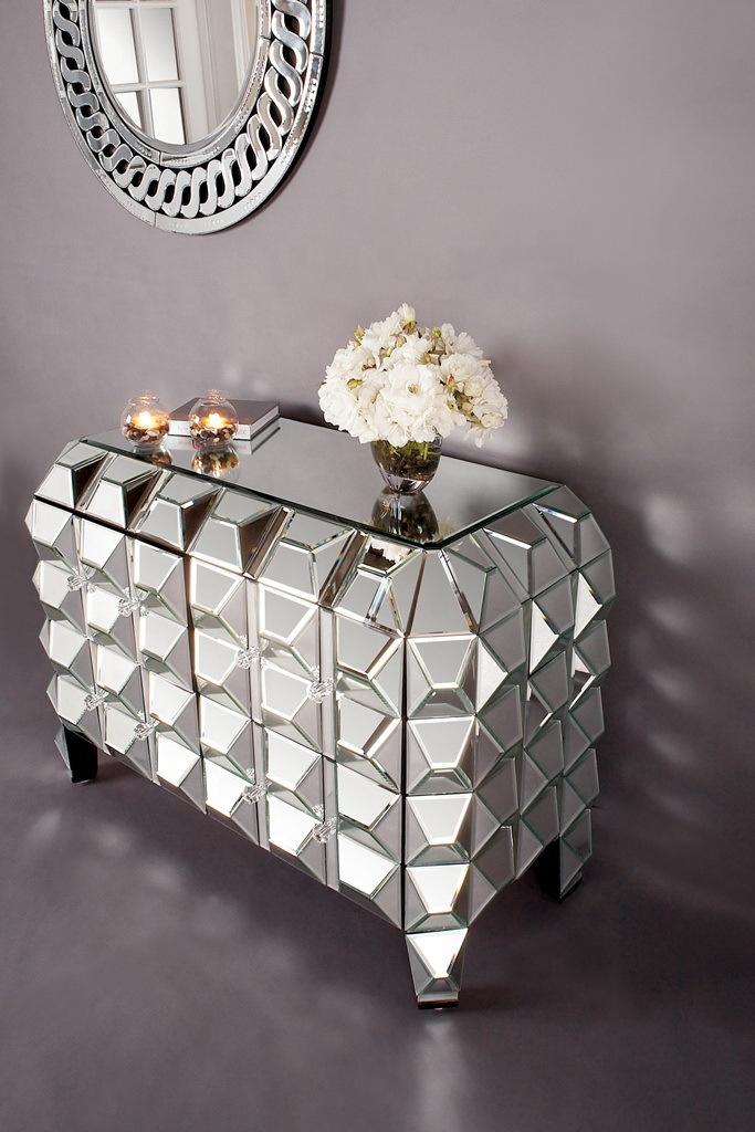 Лидер продаж, Модная Современная зеркальная консоль для хранения, стол, ночная тумбочка, комод для гостиной, спальни
