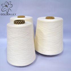 Пряжа бренда Golden lily 100%, Белая вискозная пряжа-сырец для плетения и вязания, вискозная пряжа золотой лилии на рынке Перу