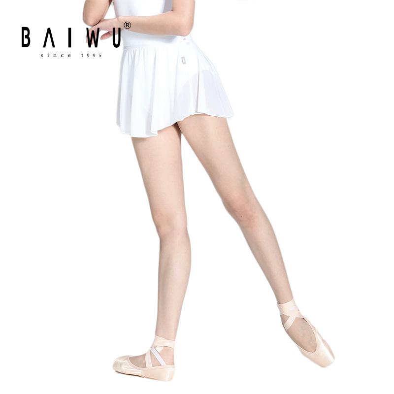 Женская сетчатая юбка Baiwu, балетная танцевальная юбка, 116143503