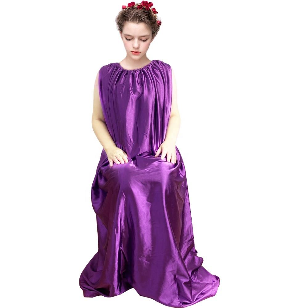 Yoni паровой платья с v-образным вырезом паровой платье класса люкс, длина до пола, Супер светло-розового цвета стирать при 30 градусов по Цельсию холодной воды 5 футов