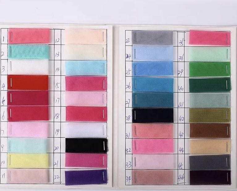 2020 Wholesale Soft 100 Polyester Matte Mesh Fabric Cheap Net Fabric