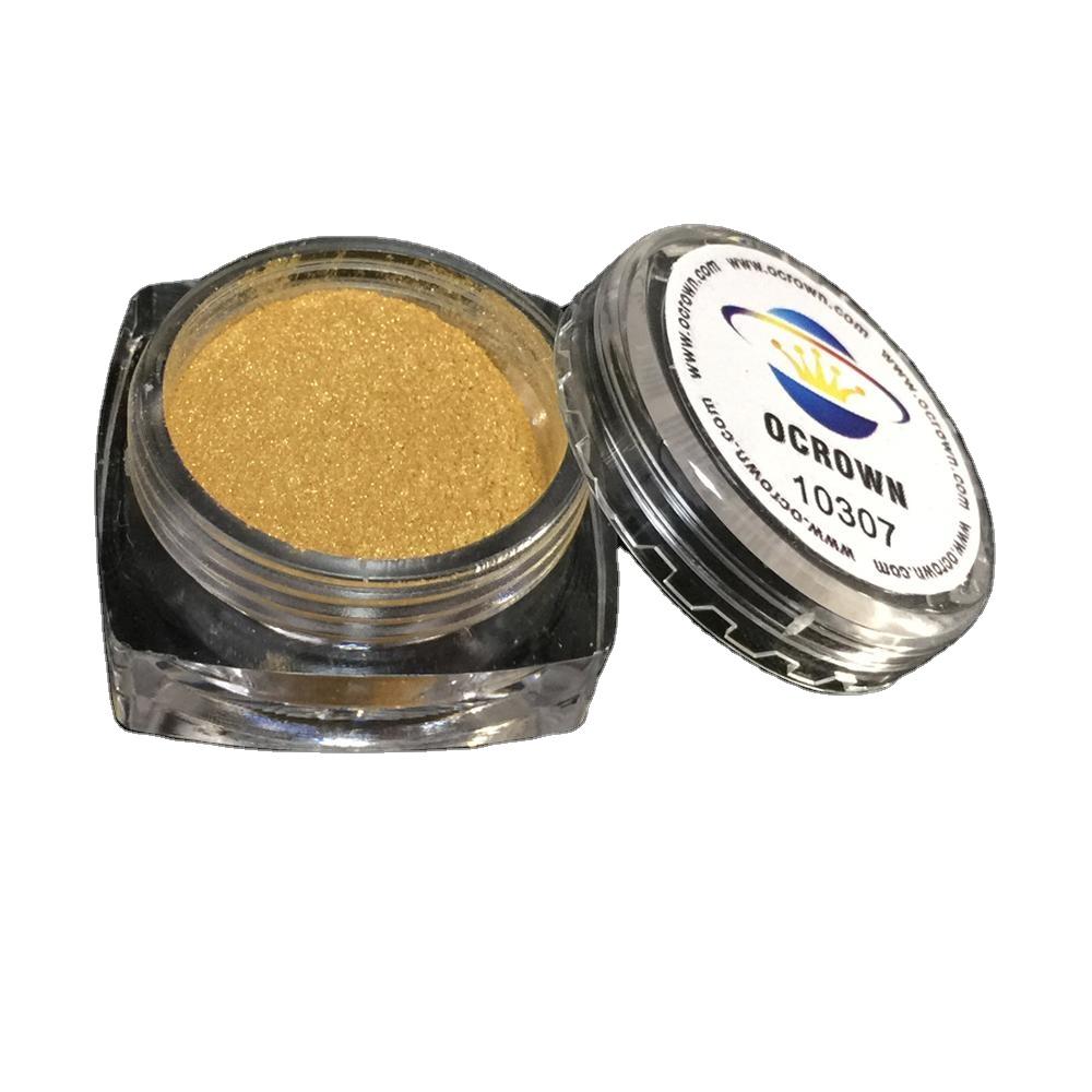 Goldene Mal Pulver Perl Glanz Chrom Pigmente Nail Art Pulver   Buy ...