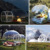 Customized size outdoor transparent inflatable camping tent bubble tents for sale