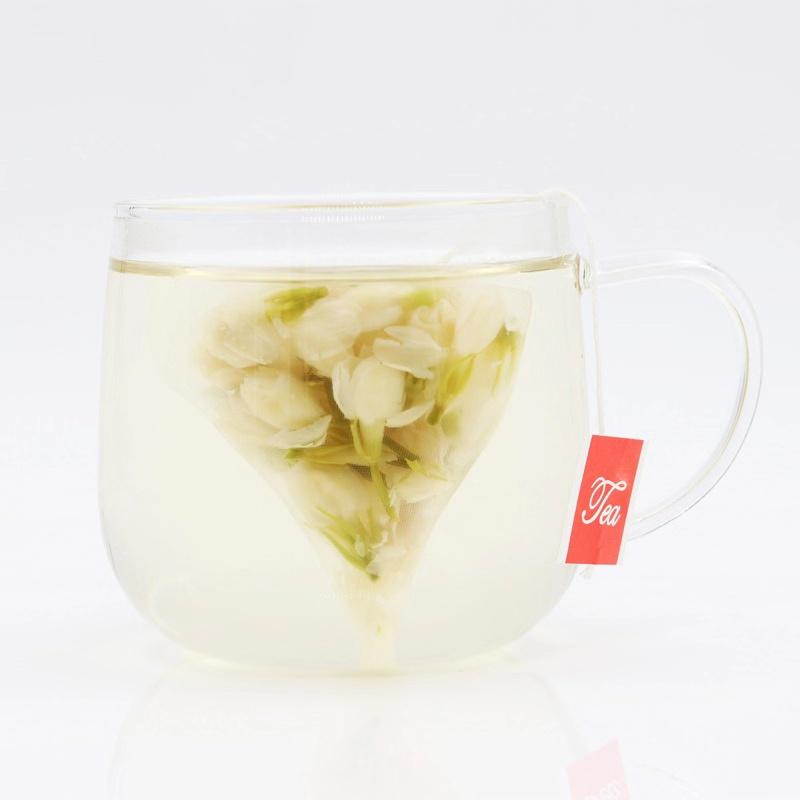 100% pure Flower Tea Bag dried Jasmine bud tea flower blooming tea Organic - 4uTea   4uTea.com
