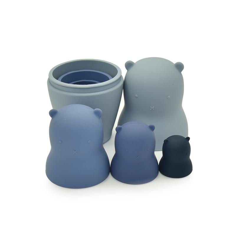 Поставщики игрушек, оптовая продажа, Высококачественная развивающая игрушка, куклы бабушка, силиконовые прорезыватели, детские игрушки-гнездики