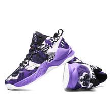 Дышащие парусиновые баскетбольные кроссовки для мужчин и женщин, спортивные уличные мужские тренировочные кроссовки, мужские и женские кр...(Китай)