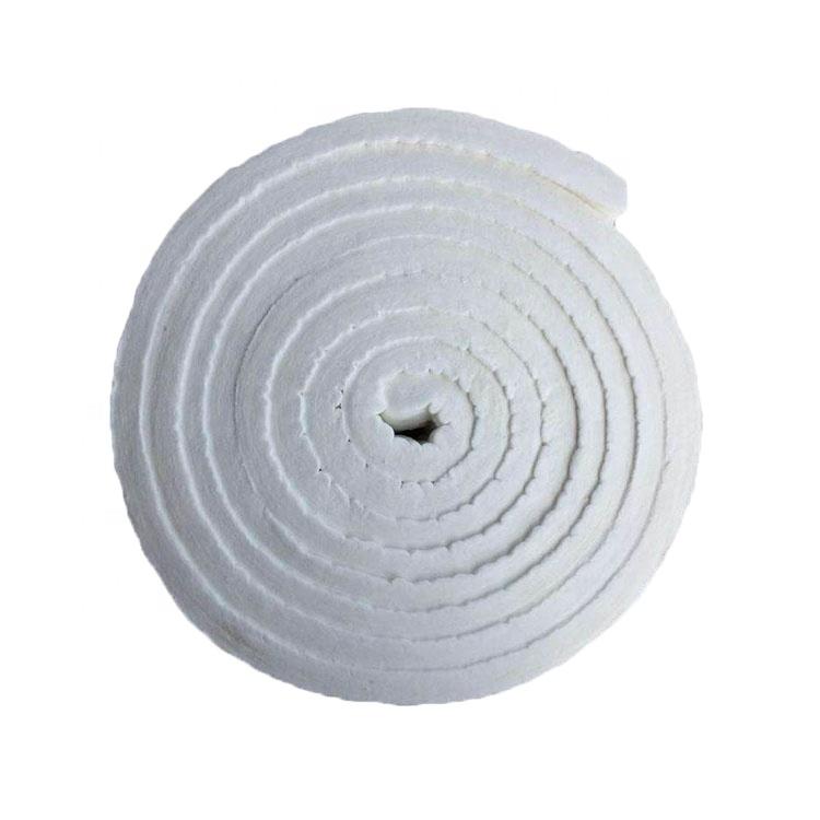 High temperature equipment with ceramic fiber spinning fiber acupuncture blanket
