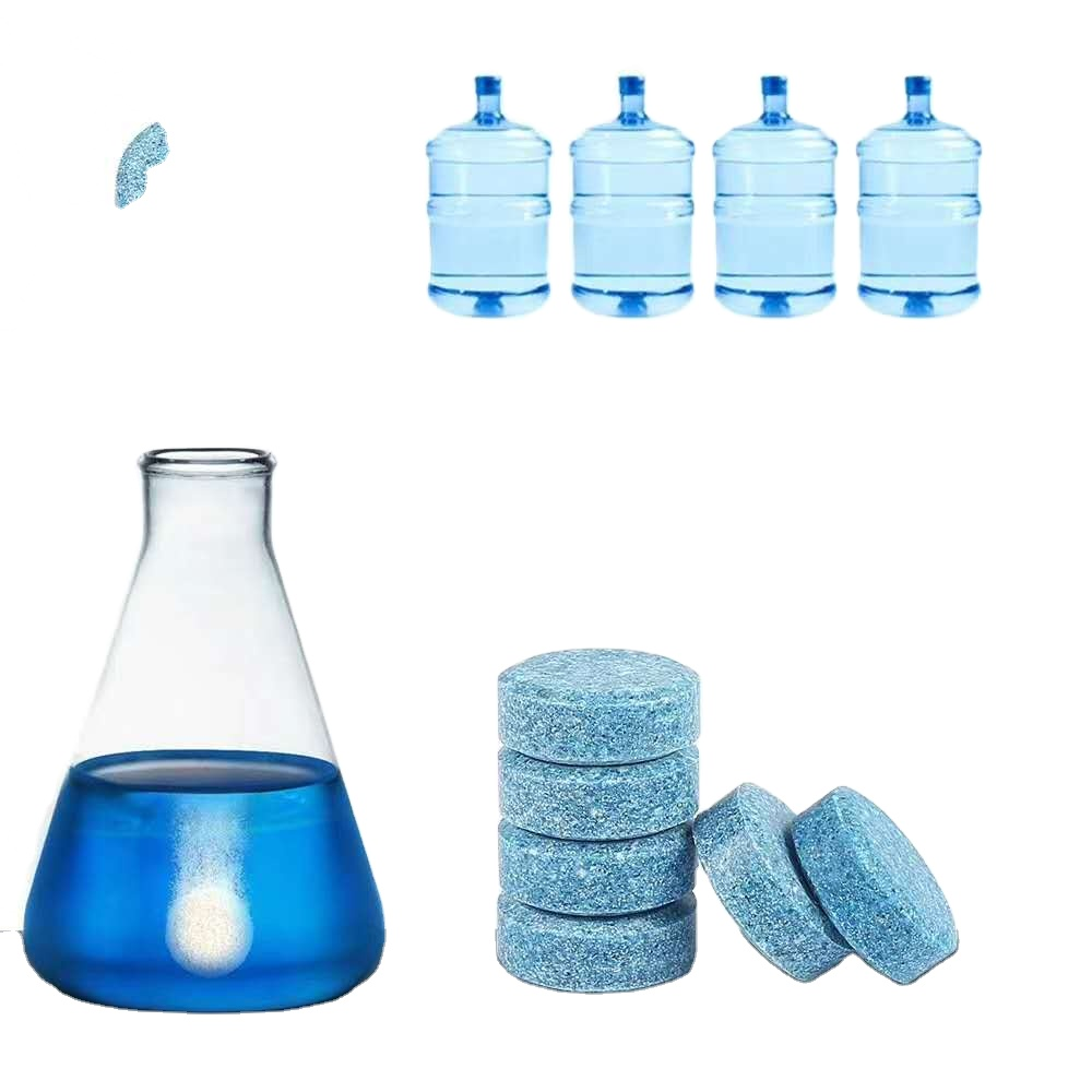 Water Multifunctional Effervescent Spray Glass Car Windshield Cleaner Tablet