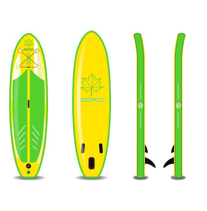 Custom design size retro upright paddle board surfboard