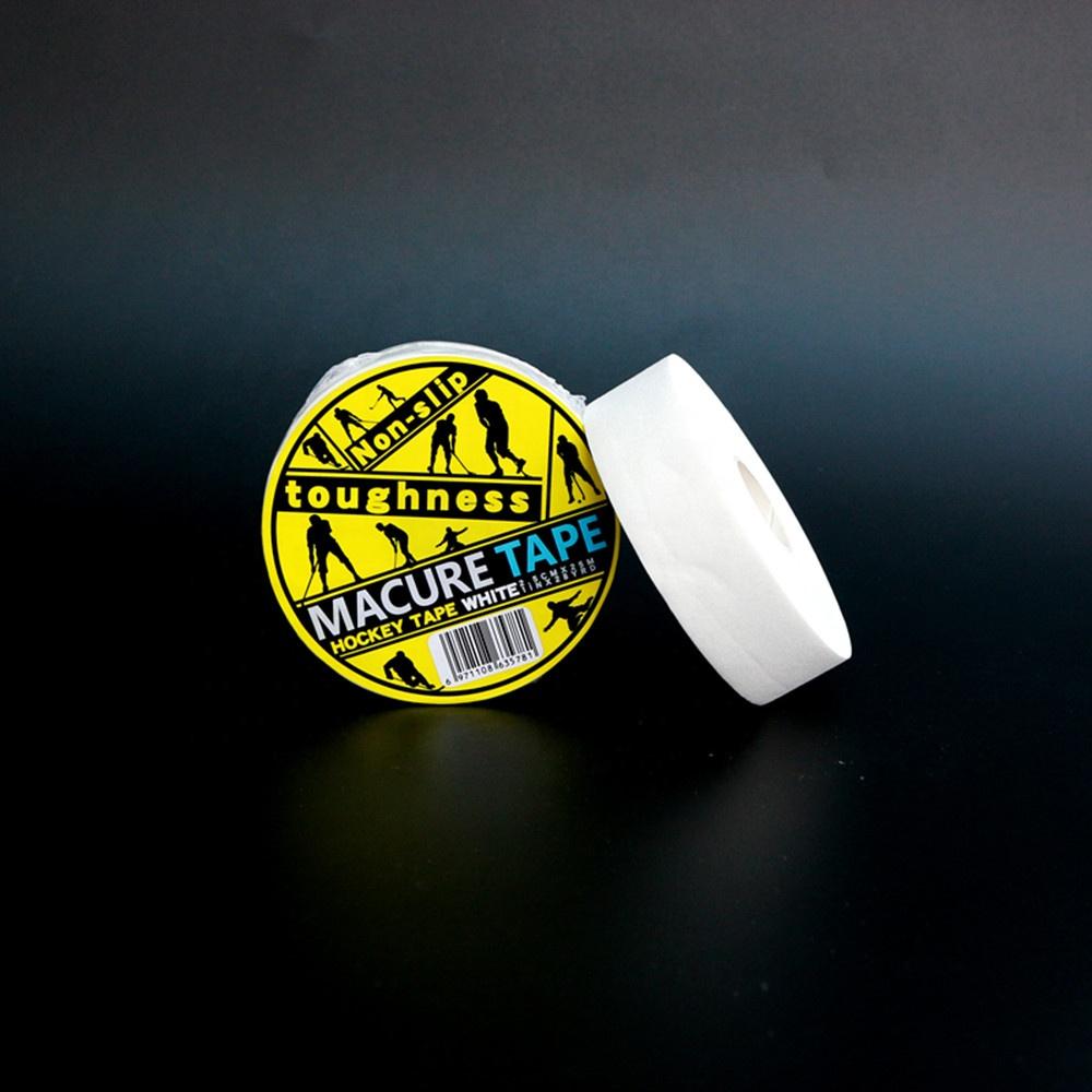 Лента macure из новой вискозы, белая, черная ткань, лента для хоккея с лезвием для хоккея с шайбой, ткань для хоккея shinguard, Прямая поставка