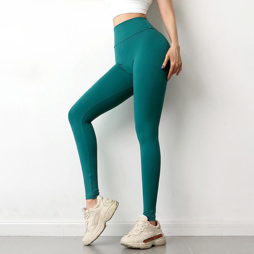 Женские эластичные штаны, Индивидуальные Леггинсы с высокой талией для йоги, спортивные штаны для тренировок в тренажерном зале и йоги