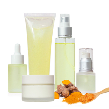 Hot sale Custom Facial Skin Care Products Private label Natural Herbal Ginger Extract Turmeric Skin Care Set